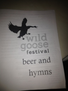beer and hymns